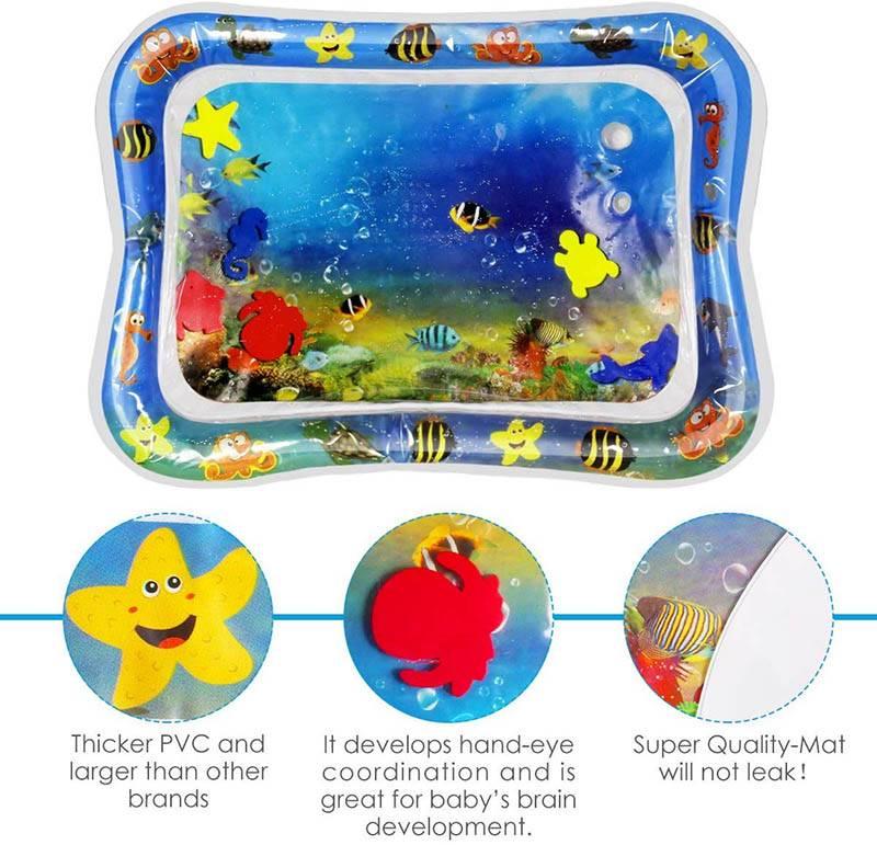 Aquarium Play Mat Features