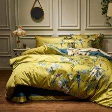 Chinoiserie Silky Soft Bedding Set (Egyptian Cotton)