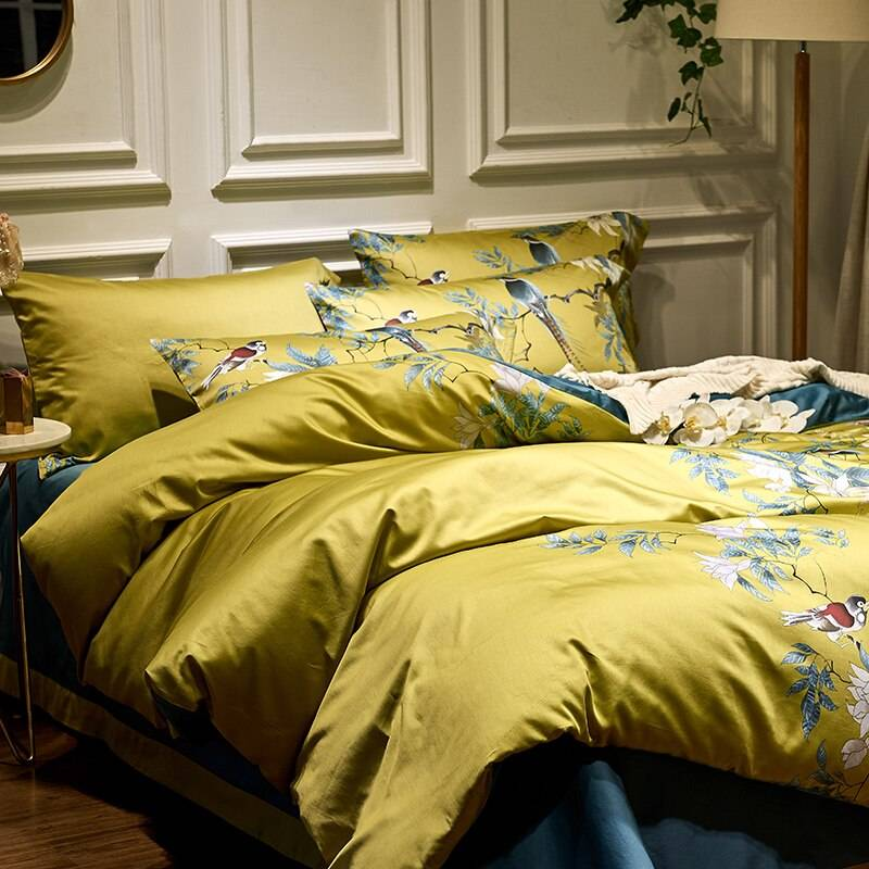 Chinoiserie Bedding Set (Egyptian Cotton)