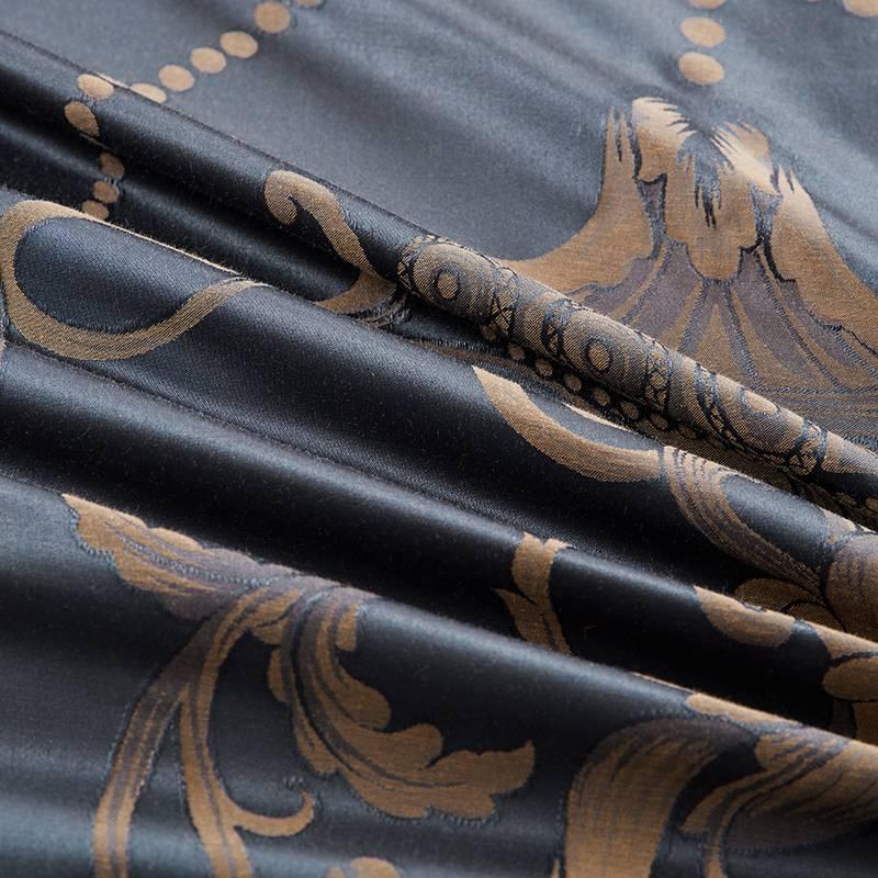Royal Silk Jacquard Duvet Cover Set
