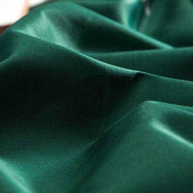 Emerald Forest Satin Duvet Cover (Egyptian Cotton)
