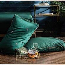 emerald forest bed set pillows