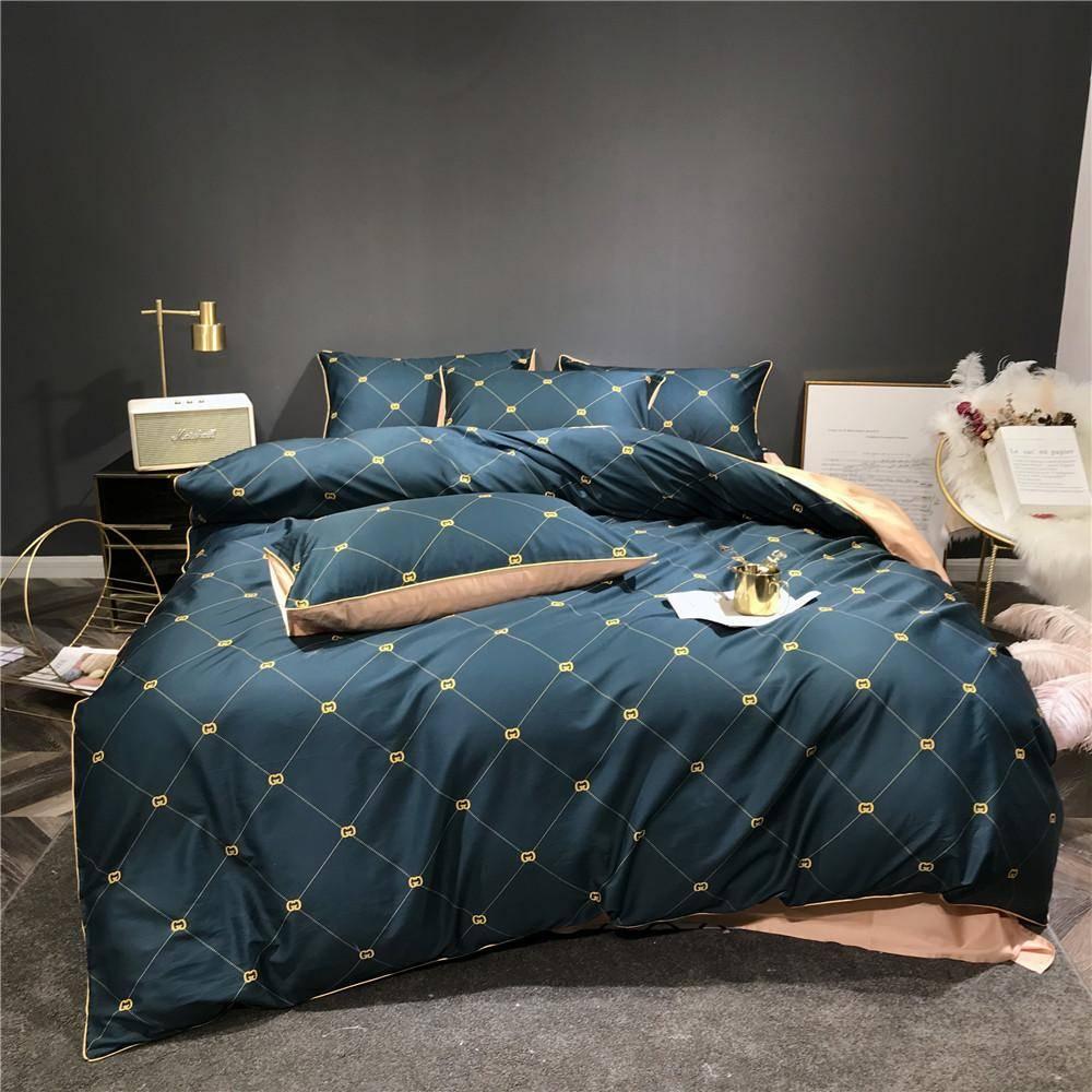 kingsman duvet cover luxury bed set