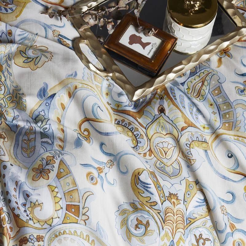 paisly jacquard bedding set
