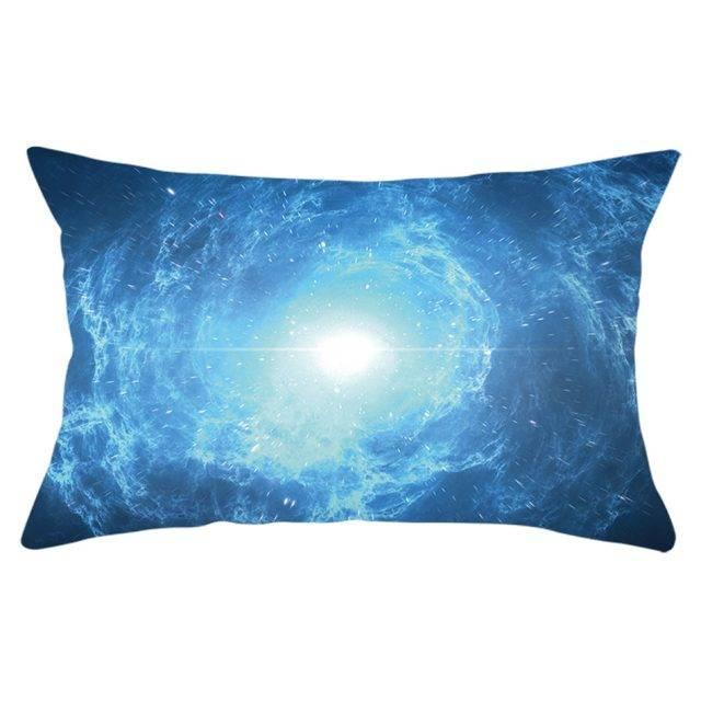 Blue Universe Style Galaxy Pillowcase